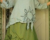 CUSTOM ORDER for ladyastor1955 Sunflower Shirt