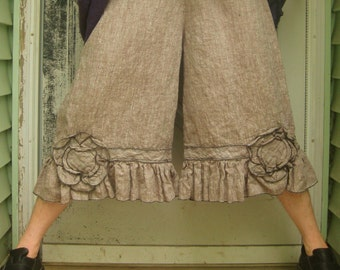 Cropped Flower Bloomers