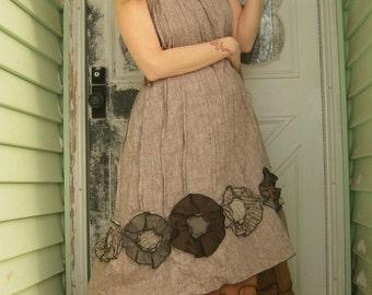 Flower Bottom Dress