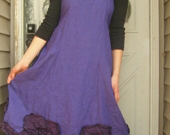 Flared Flower Petal Dress