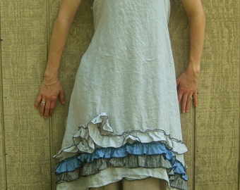 CUSTOM ORDER for Renee Lanier  Ruffle And Swirly Dress