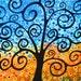 Tree or Prosperity 11x14 Signed Art Print by trmackstudio on Etsy, TR mack
