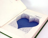 Hollow Book Safe - Maria with Heart Cut-Out