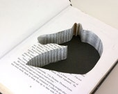 Hollow Book Safe -Wild Horses with Horse Head Cut-Out-
