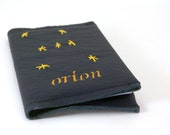Leather Notebook - Refillable - Orion-