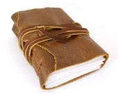 Natural Earth Chunk Leather Journal or Sketchbook-