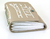 Leather Journal -  Birch Trees (med)