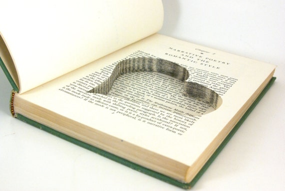 Hollow Book Safe - Romantic Narrative Art