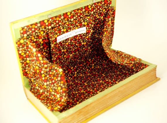 Vintage Book Clutch - Book Purse - The Life of the Party