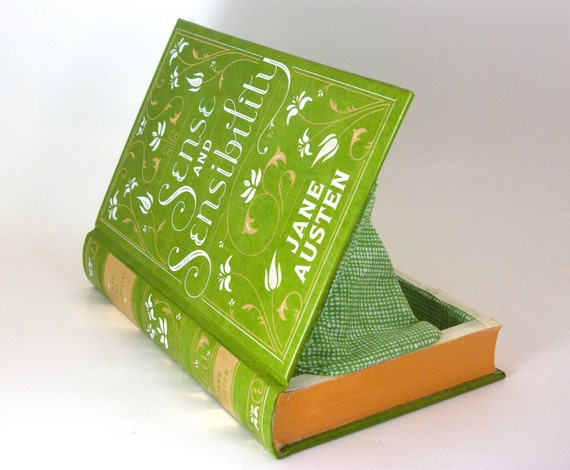 Book Clutch - Book Purse - Sense and Sensibility by Jane Austen