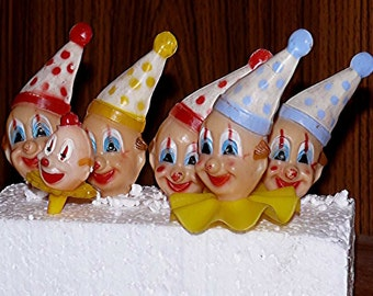Clowns Birthday Cake Decorations