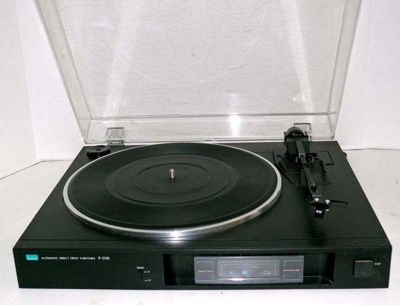 Sansui P-D10 Direct Drive Turntable with Dust Cover and Warranty