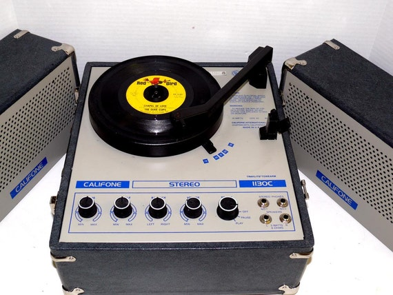 1130C Califone Stereo Record Player with Warranty