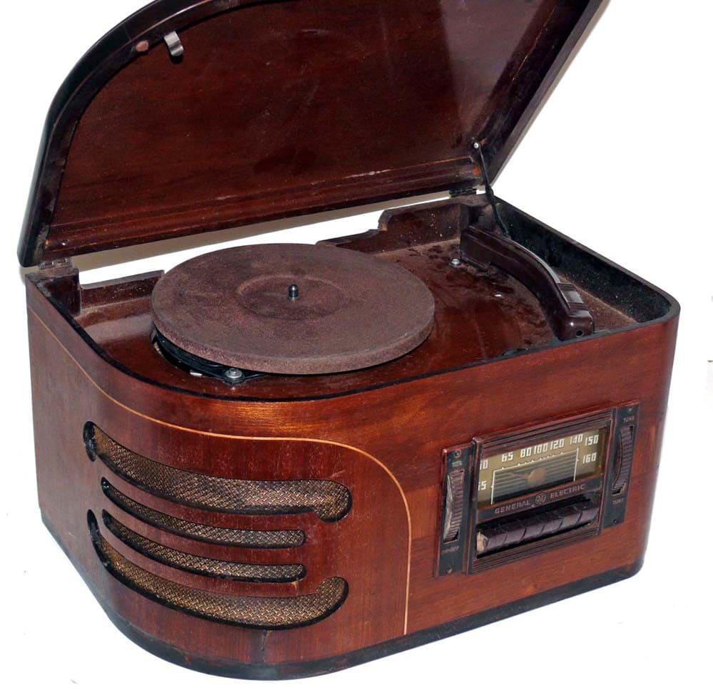 1940 Ge Hi 518 Ac Radio Record Player
