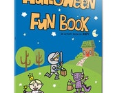 Halloween Fun Book PDF Printable Coloring Book