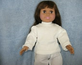 Long Sleeved Tee for American Girl and other 18 inch dolls