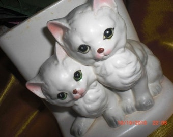 Kitten Planter by Lefton Exclusives