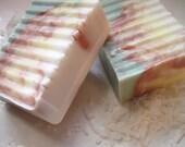 Pina Colada Scented Tropical Swirl Soap