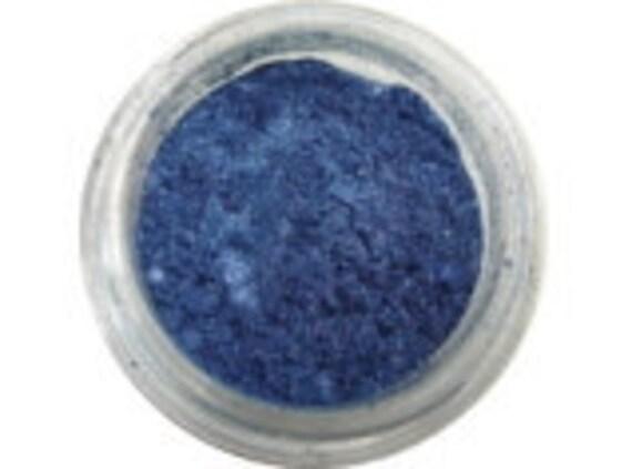 Blue Eye Shadow Larkspur Blue eyeshadow makeup Vegan for sensitive eyes