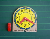 Judy / Instructo mini clock learning tool from the 1970s