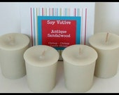 Scent of the Month- Antique Sandalwood - Soy Votive Candles