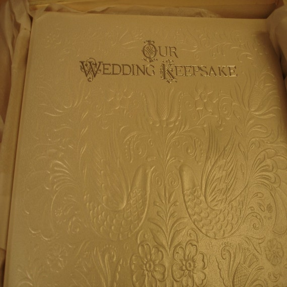 Hallmark Wedding Album: Vintage Hallmark Wedding Album By RenascentRetro On Etsy
