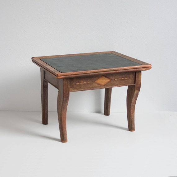Items Similar To Rustic Vintage Wooden Step Stool On Etsy