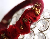 Moulin Rouge Bangle - Hand Felted