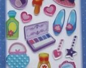 Cute Little Sticker Sheet-Set Ladies Accessories and Makeup