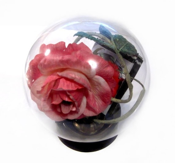 Vintage German Decor Aquarium Glass Globe By Vintagepennylane