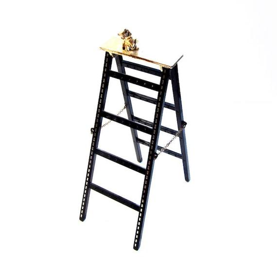 Vintage Earring Holder, Ladder Jewelry Display