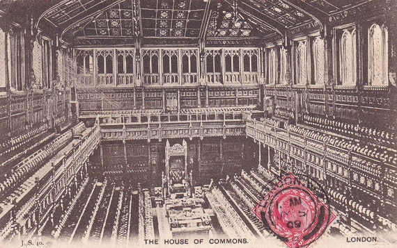 The House of Commons, London