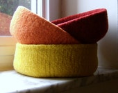 Felted Bowl Sale - Pick Three Double-Wide