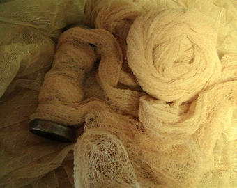 Old World Style Hand Dyed Cheese Cloth - Gauze