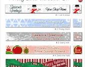 Holiday Banner Set