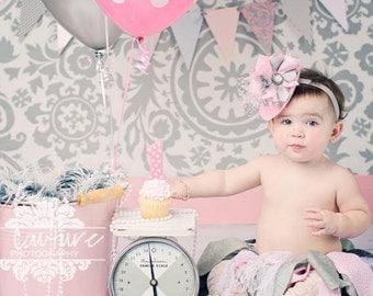 Mini Top Hat Headband, Alice In Wonderland, Tea Party Hats, Baby Headbands, Pink Mini Top Hat, Birthday Party Hats, Baby Girls Headbands