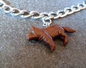 Wolf charm (for a Bella's bracelet)