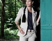 ORGANIC Hemp Linen Suit Jacket