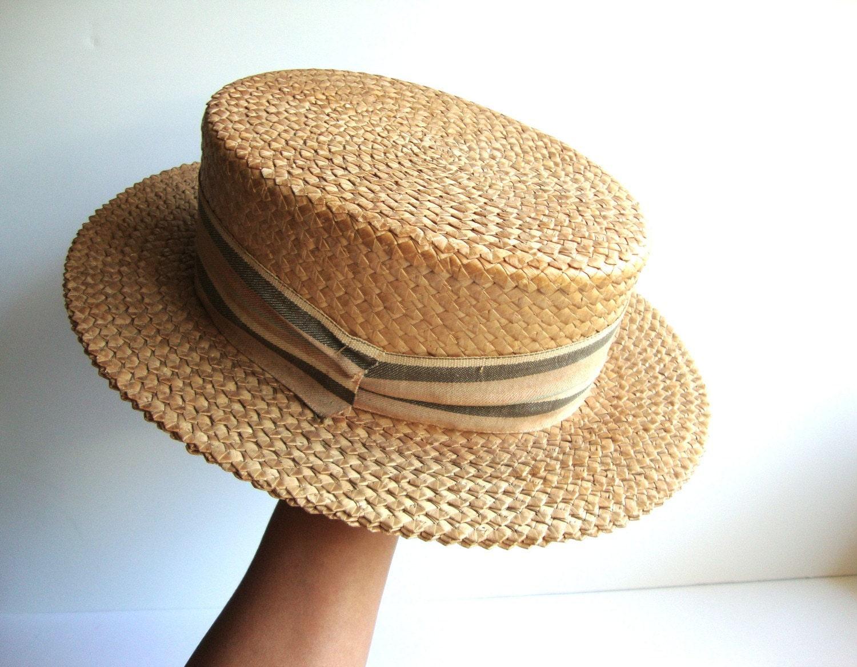 Шляпа-канотье своими руками 33