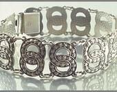Vintage Arne Nordlie Norway Sterling Silver Bracelet