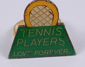 SALE retro tennis love ring