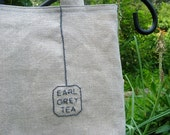 Earl Grey Tea Bag Tote - RESERVED for lilrosie4