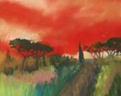 Tuscany Trails Small Print