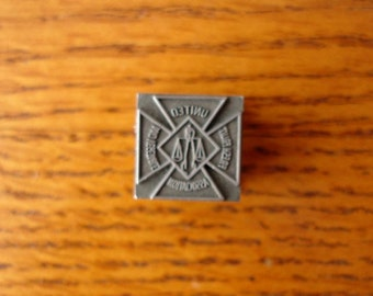 Vintage Letterpress Printer's Block - United Growers