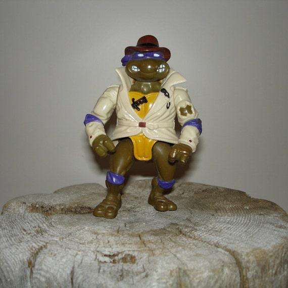 Vintage Teenage Mutant Ninja Turtle - Donatello in Disguise.