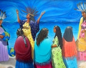 Future Is Female-ArtMagnet-Native American Honoring Mother Series