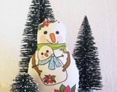 Doll Kit Snowman Ornament Kit