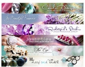 Custom banner Etsy banner and avatar header, etsy shop set, banner design, digital banner, shop design, personalized, winchesterlambourne