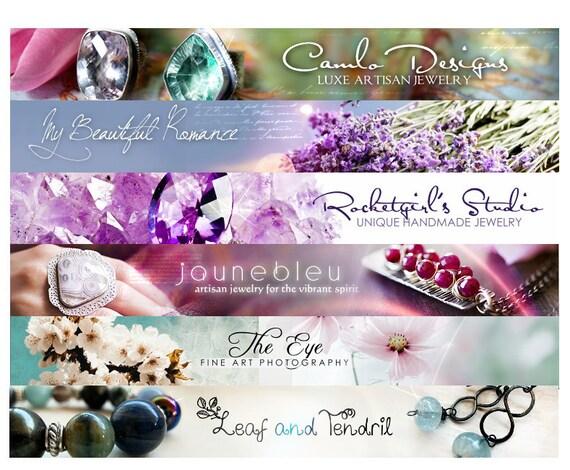 Custom banner Etsy banner and avatar header, etsy shop set, banner design, digital banner, shop design, personalized, winchesterlambourne