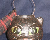 Paper Mache Medium Cat Basket